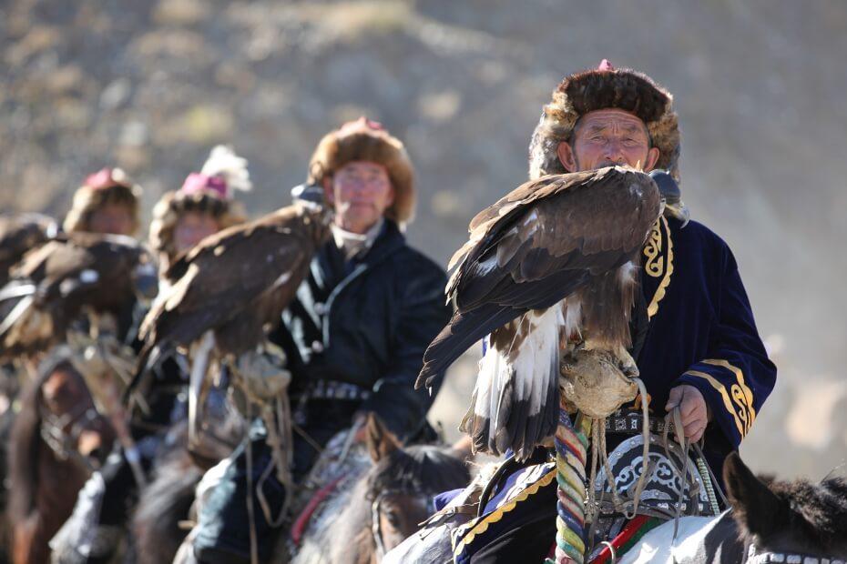 ОРЛИНАЯ ОХОТА: Монголии