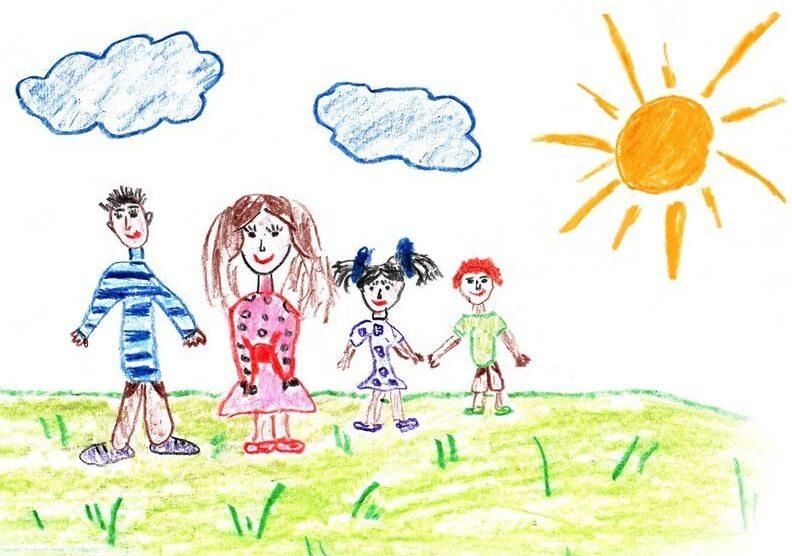 ДЕТИ: их рисунки послания