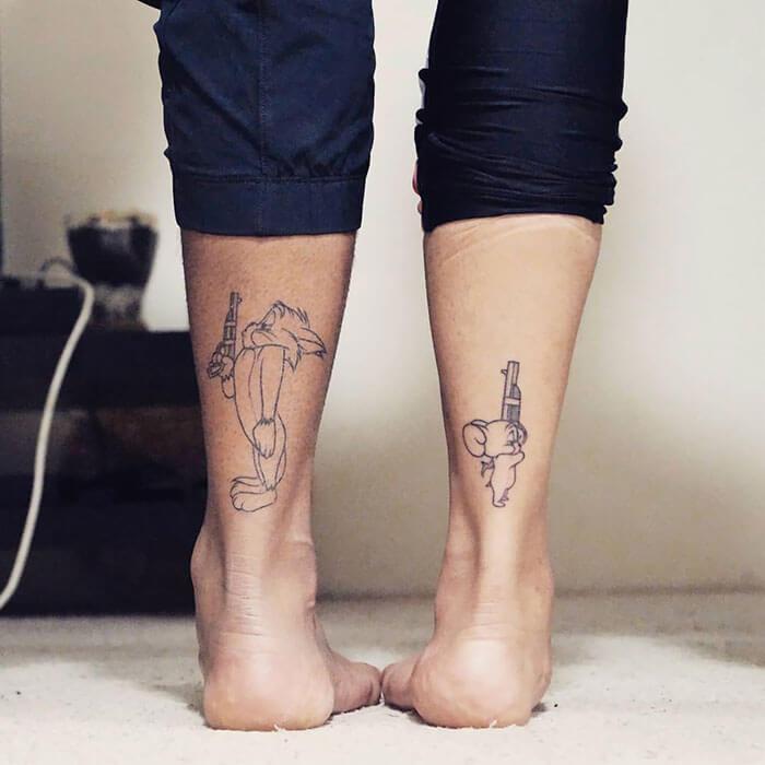 ТАТУИРОВКИ НА ДВОИХ: 20 татуировок для влюблённых