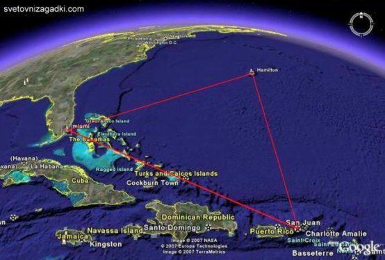 ВЕДЫ: о Бермудском треугольнике