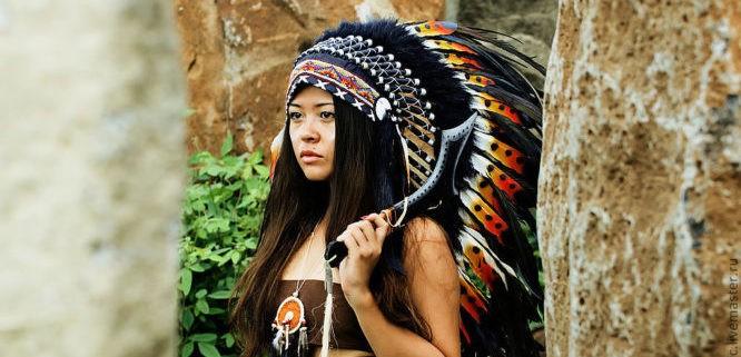 Происхождение индейцев.
