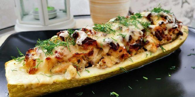Блюдо из кабачков.