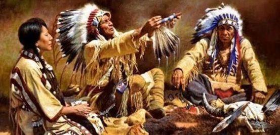 Совет племени.