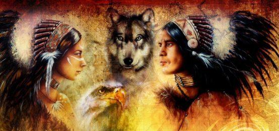 Индейцы.