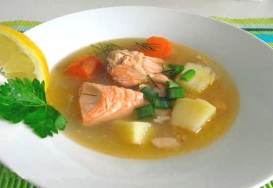 Рыба в супе