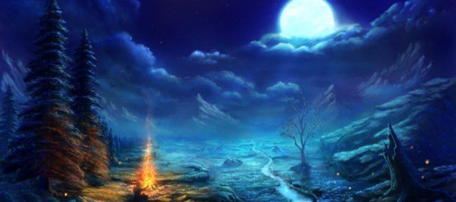 Луну посещали